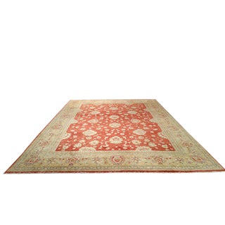 10′ × 14′ Traditional Handmade Knotted Rug - Size Cat. 10x14