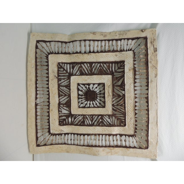 Image of Vintage Mexican Amate Bark Paper Art