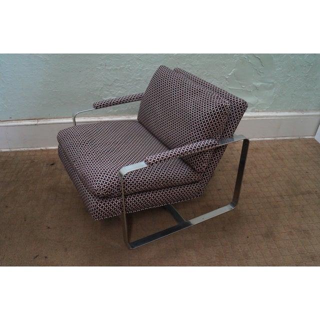 Image of Bernhardt Flair Lounge Chair Milo Baughman Era