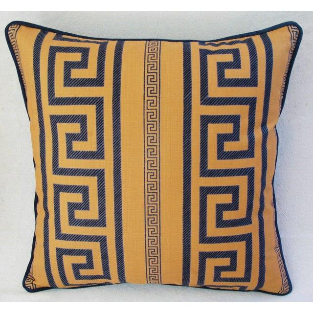 Designer Pierre Frey Greek Key Pillows - A Pair - Image 5 of 11