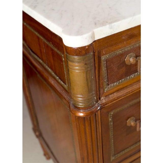 Maison Jansen Marble Top & Mahogany Commode - Image 4 of 9