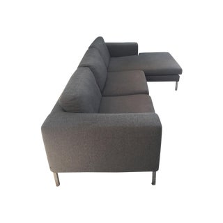 Room & Board Slate Gray Bensen Neo Sectional
