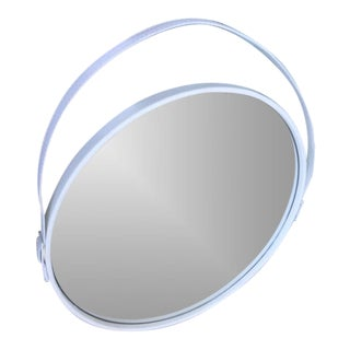 "George Round White Mirror- 24"" Dia (Pinterest Mirror)"