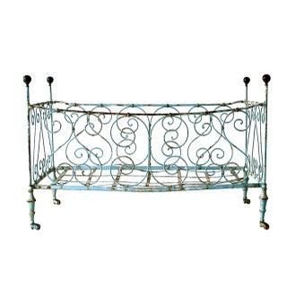 French Antique Baby Crib C. 1800's