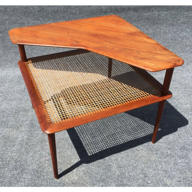 Image of Minerva Seating Group 2-Tier Corner Table