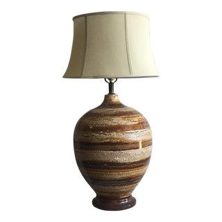 Earth Tone Table Lamp