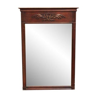 Federal Style Wooden Mirror