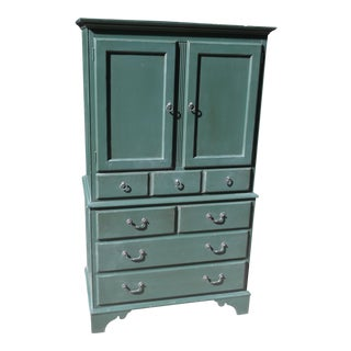 Ethan Allan Green Office Armoire