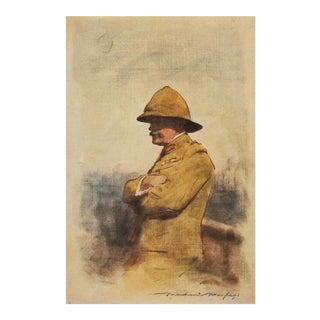 Portrait of Famous Major General Wavell