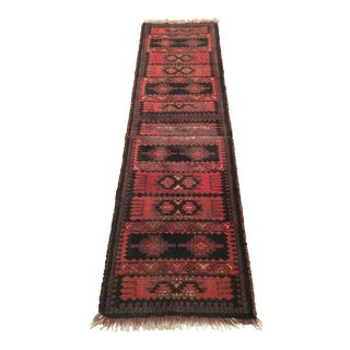 Persian Style Distressed Runner- 2′2″ × 7′8″
