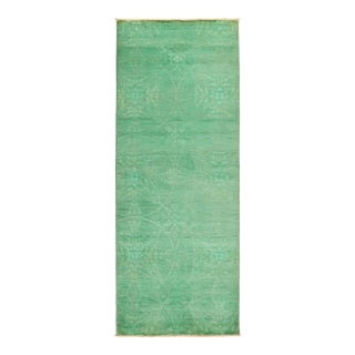 """Vibrance Hand Knotted Runner Rug - 3' 1"""" X 8' 0"""""""