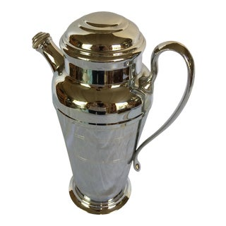 Mid-Century Modern Farberware Chrome Cocktail Mixer