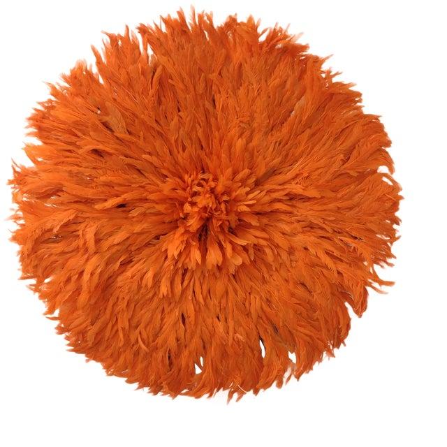 Authentic Tangerine Cameroon Juju Hat - Image 1 of 4