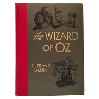 """The Wizard of Oz"" Vintage 1944 Book by Frank L. Baum"