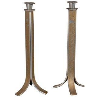Art Deco Candlesticks - Pair