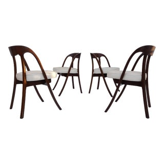 Edward Wormley Style Dining Chairs - Set of 4