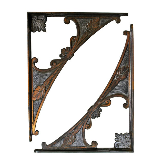 Victorian Shelf Brackets - A Pair - Image 1 of 2