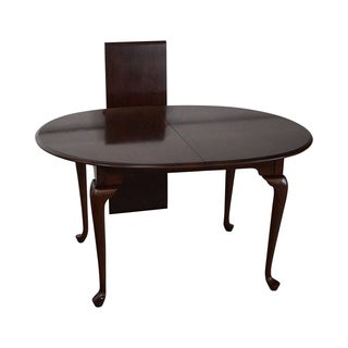Pennsylvania House Solid Cherry Queen Anne Dining Table