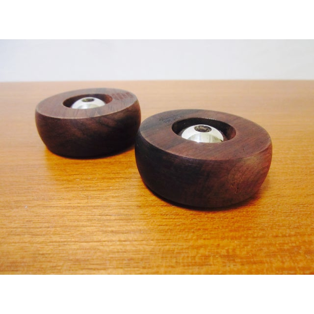 Danish Modern Nissen Candle Holders - A Pair - Image 2 of 9