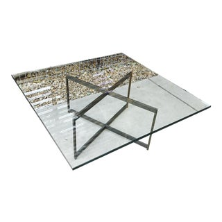 Brass Base / Glass Coffee Table