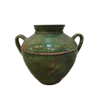 Vintage Green Ceramic Pottery
