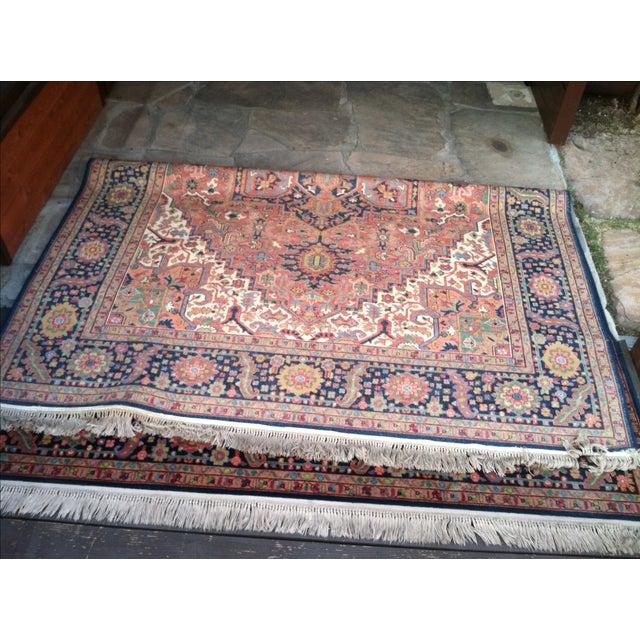 """Oriental Persian Wool Rug - 8'8"""" X 12' - Image 6 of 10"""