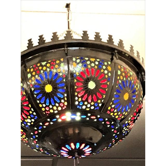 Boho Zehroun Metallic Lamp - Image 5 of 5