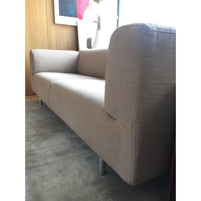 Cassina Met 250 Beige Sofa by Piero Lissoni - Image 10 of 10