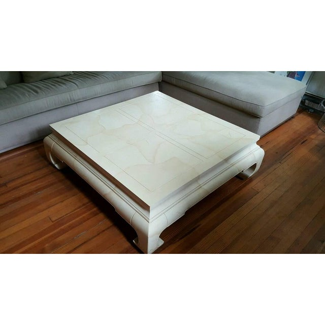 Image of Vintage Ming Style Coffee Table by Henredon