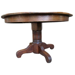 Traditional Oak Dinning Table