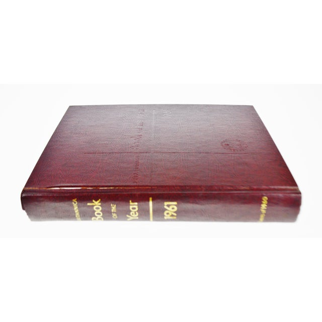 1961 - 1976 Britannica Book Of The Year Leather Bound Books - S/16 - Image 11 of 11