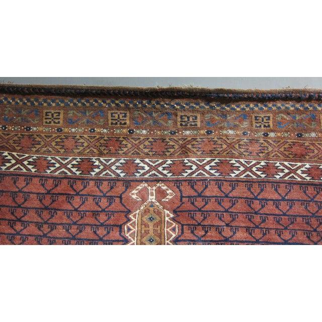"""Vintage Sarreid LTD Tribal Rug - 5' x 6'11"""" - Image 4 of 6"""