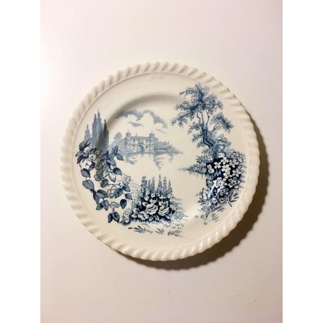 English Style Toile Pattern Trinket Dish - Image 2 of 3
