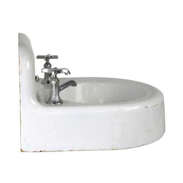 Kohler Vintage Cast Iron Enamel Sink - Image 3 of 4