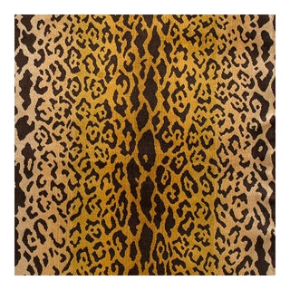 Scalamandre first quality LEOPARDO Silk Cut Velvet - 2 Yards
