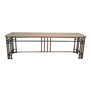Limestone Console Table