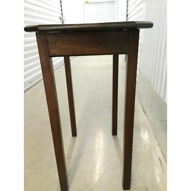 Antique Lift-Top Side Table - Image 3 of 8