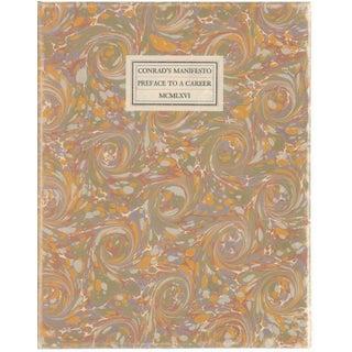 Conrad's Manifesto: Preface to a Career