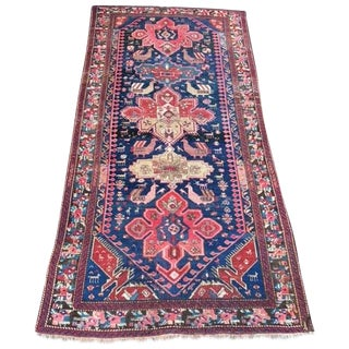 "Antique Yalameh Persian Rug - 4'8"" X 8'11"""