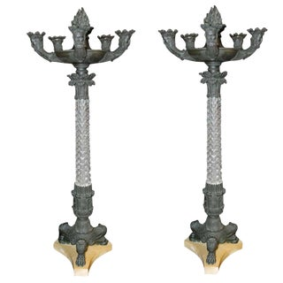 Pair of French Candelabrum