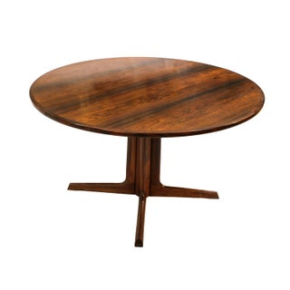 Niels Møller Danish Modern Rosewood Expandable Dining Table