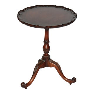 Smith and Watson Small Pie Crust Table
