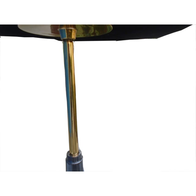 Image of Garcia Small Side End Table With Vellum Top