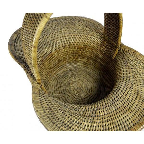 Burmese Hand Woven Hat Basket - Image 5 of 10