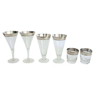 Dorothy Thorpe Glassware - Set of 6