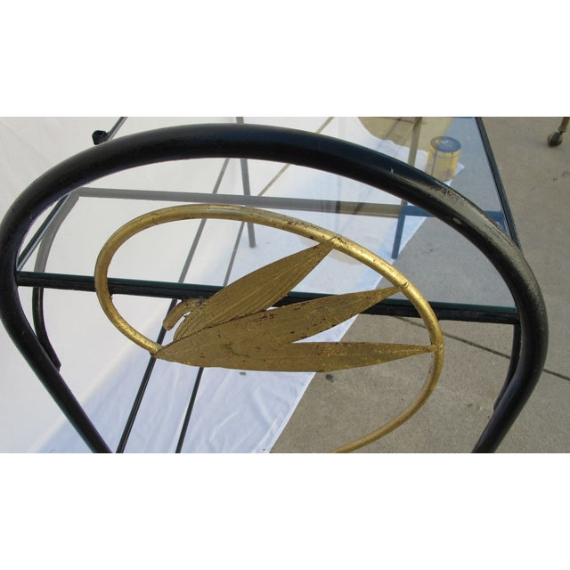 Art Deco Wrought Iron Console - Image 4 of 5