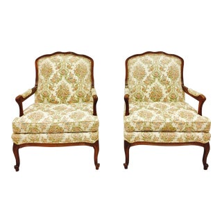 Vintage French Style Arm Chairs - A Pair