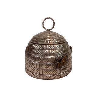 Hive Shaped Metal Canister