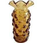 Image of Blenko Pineapple Bubble Glass Vase