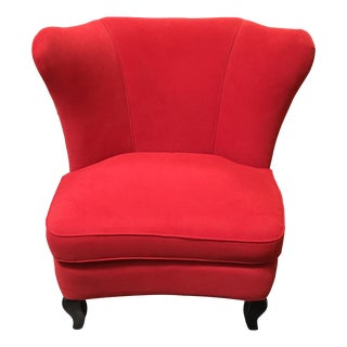 Crate & Barrel Jardin Wingback Armchair